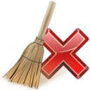 128x128px size png icon of Actions edit clear
