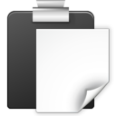 128x128px size png icon of Actions edit paste
