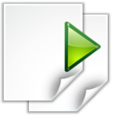 128x128px size png icon of Actions go next view page