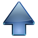 128x128px size png icon of Actions go up