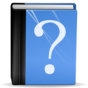 128x128px size png icon of Actions help contents