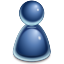 128x128px size png icon of Actions im user