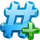 128x128px size png icon of Actions irc join channel
