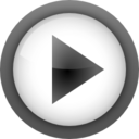 128x128px size png icon of Actions media playback start
