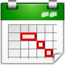 Actions view calendar timeline Icon