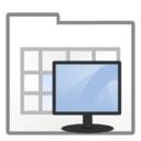 128x128px size png icon of Actions view process system