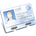 128x128px size png icon of Apps office address book