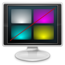 128x128px size png icon of Apps preferences desktop display color