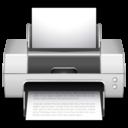 128x128px size png icon of Apps preferences desktop printer