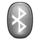 128x128px size png icon of Apps preferences system bluetooth inactive