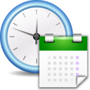 128x128px size png icon of Apps preferences system time