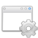 128x128px size png icon of Apps preferences system windows actions
