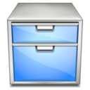 128x128px size png icon of Apps system file manager