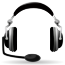 128x128px size png icon of Devices audio headset