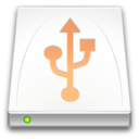 128x128px size png icon of Devices drive removable media usb