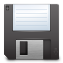 128x128px size png icon of Devices media floppy