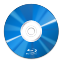128x128px size png icon of Devices media optical blu ray