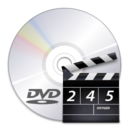 128x128px size png icon of Devices media optical dvd video