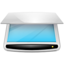 128x128px size png icon of Devices scanner