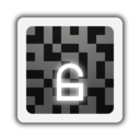 128x128px size png icon of Emblems emblem encrypted unlocked