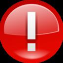 128x128px size png icon of Emblems emblem important