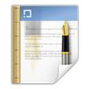 128x128px size png icon of Mimetypes application msword template