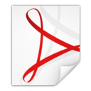 Mimetypes application pdf Icon