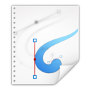 128x128px size png icon of Mimetypes application vnd oasis opendocument graphics