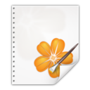 128x128px size png icon of Mimetypes application vnd oasis opendocument image