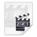 128x128px size png icon of Mimetypes application vnd rn realmedia