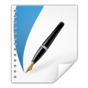 128x128px size png icon of Mimetypes application vnd scribus