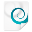 128x128px size png icon of Mimetypes application x chm