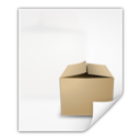 128x128px size png icon of Mimetypes application x cpio
