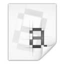 128x128px size png icon of Mimetypes application x font pcf
