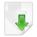 Mimetypes application x kgetlist Icon