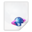 128x128px size png icon of Mimetypes application xhtml plus xml