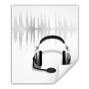 128x128px size png icon of Mimetypes audio x speex plus ogg