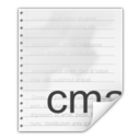 Mimetypes text x cmake Icon