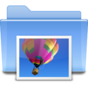 128x128px size png icon of Places folder image