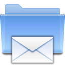 128x128px size png icon of Places mail folder sent