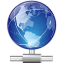 128x128px size png icon of Places network workgroup