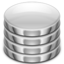 128x128px size png icon of Places server database