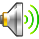 Status audio volume high Icon