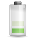 128x128px size png icon of Status battery 040