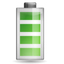 128x128px size png icon of Status battery 100