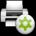 128x128px size png icon of Status printer printing