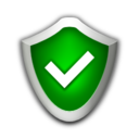 128x128px size png icon of Status security high