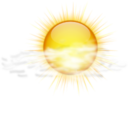 128x128px size png icon of Status weather few clouds
