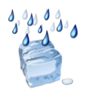 128x128px size png icon of Status weather freezing rain