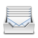 128x128px size png icon of Places mail folder inbox
